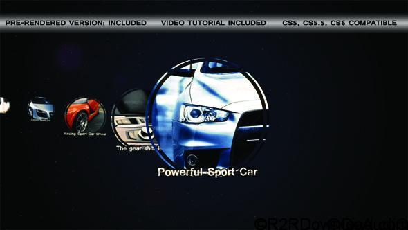 VideoHive Sport Car Slideshow Free Download