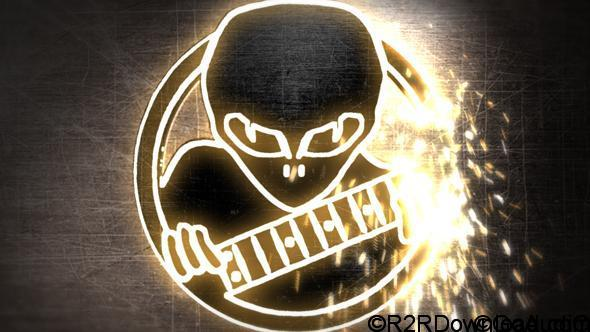 VideoHive Welding Logo Reveal with Sparks Free Download