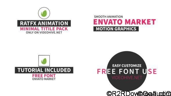 Videohive 40 Title Pack Free Download