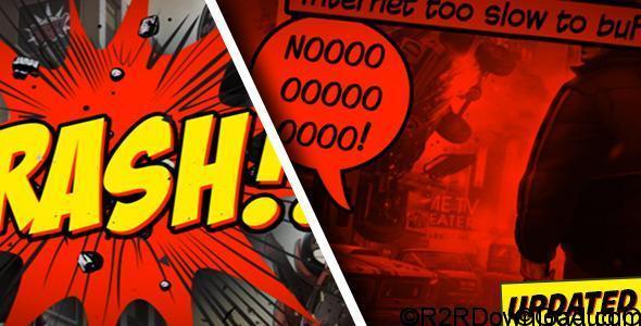 Videohive Comic Strip Free Download