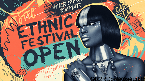 Videohive Ethnic Festival Open Free Download