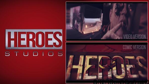 Videohive Heroes Logo Free Download