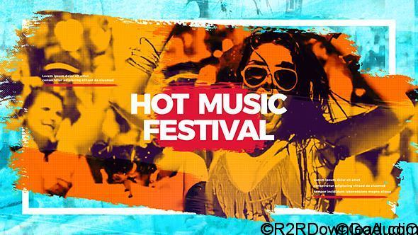 Videohive Hot Music Festival Free Download