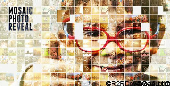 Videohive Mosaic Photo Reveal Free Download