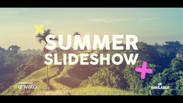 Videohive Summer Slideshow Free Download