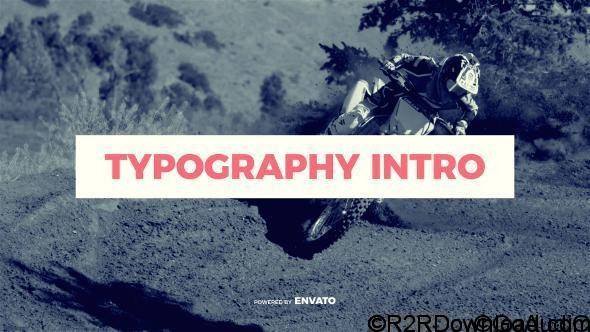 Videohive Typography Intro 19625714 Free Download