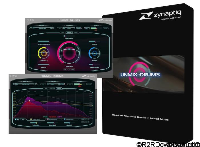 Zynaptiq UNMIX DRUMS Free Download