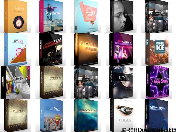 Pixel Film Studio Complete Plugin Collection For FCPX (August 2017)