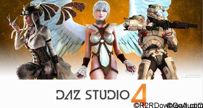 DAZ Studio Pro Edition 4.10.0.107 Free Download (WIN-OSX)
