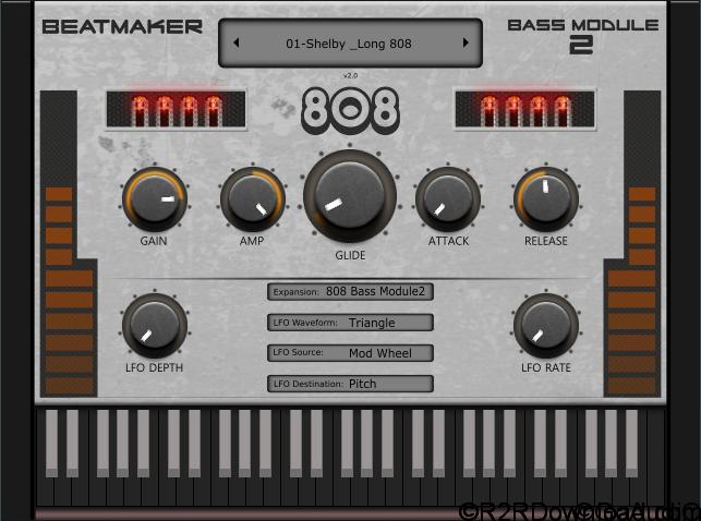 808 Bass Module 2 (WIN-OSX)