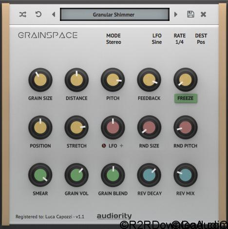 Audiority GrainSpace v1.2.1 Free Download (WIN-OSX)