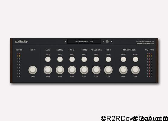 Audiority Harmonic Maximizer v1.1 Free Download (Mac OS X)