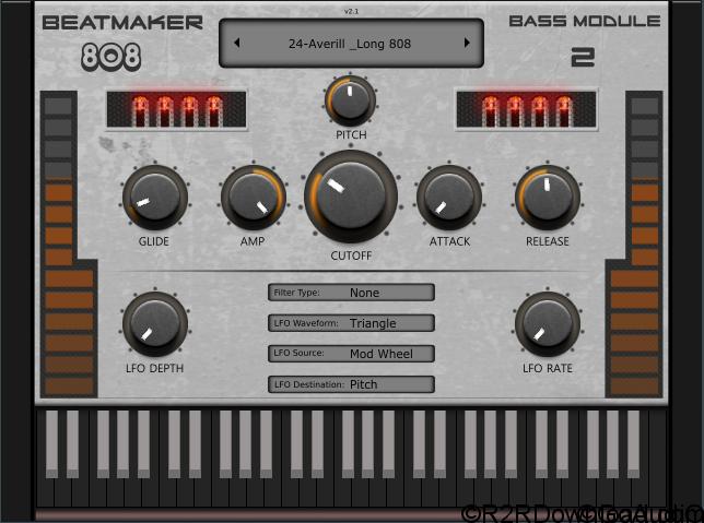 BeatMaker 808 Bass Module 2 v2.1 VST AU (WIN-OSX)