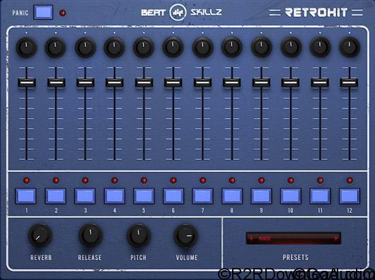 BeatSkillz RetroHit AU Free Download (Mac OS X)
