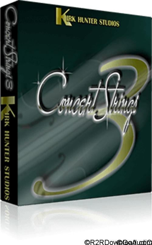 Kirk Hunter Studios Concert Strings 3 KONTAKT