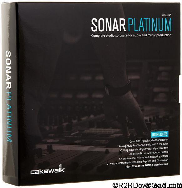 Cakewalk SONAR Platinum 23.10.0.14 + Content