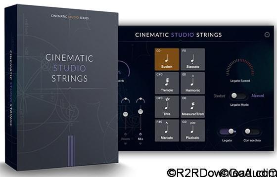 Cinematic Studio Strings v1.1 KONTAKT