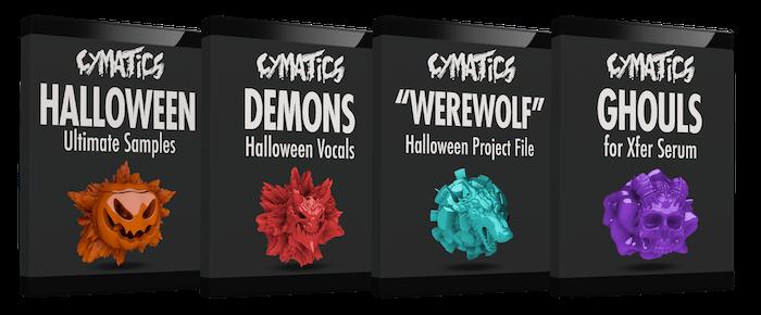 Cymatics Halloween Ultimate Samples + Bonuses
