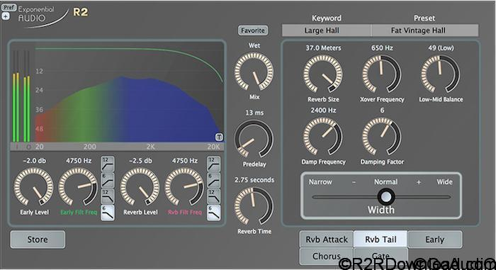 Exponential Audio R2 Stereo Reverb v3.0.2 Free Download
