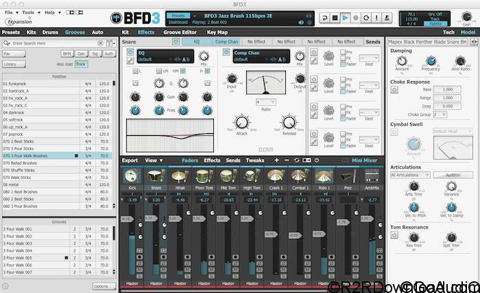 FXpansion BFD3 v3.2.2.2 Free Download (WIN-OSX)