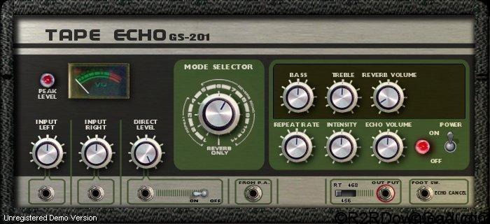 Genuine Soundware GS-201 Tape Echo v1.2 Free Download