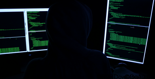 HACKER – STOCK FOOTAGE (VIDEOHIVE) Free Download