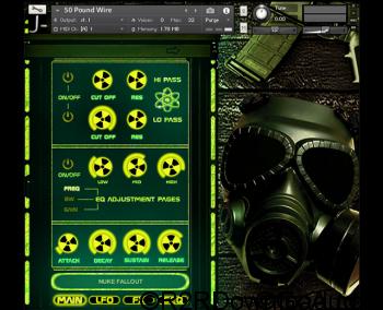 J-Music Nuke Fallout KONTAKT