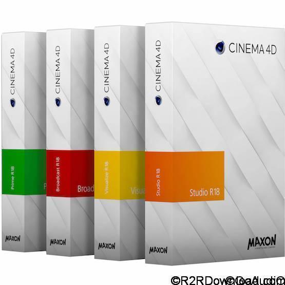 Maxon CINEMA 4D Studio R18.041 Multilingual