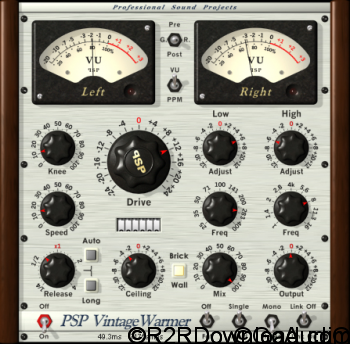 PSPaudioware PSP VintageWarmer2 v2.7.2 Free Download