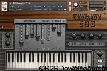 Rhythmic Robot Audio Drawbar 350 KONTAKT
