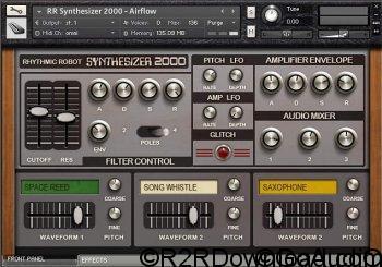 Rhythmic Robot Audio Synthesizer 2000 KONTAKT