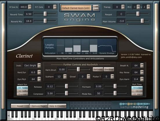 SampleModeling SWAM The Clarinets v2.5.3 Free Download (x64)