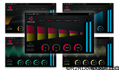 SoundSpot Nebula FX VST VST3 AU AAX v1.0.0 Free Download (WIN-OSX)