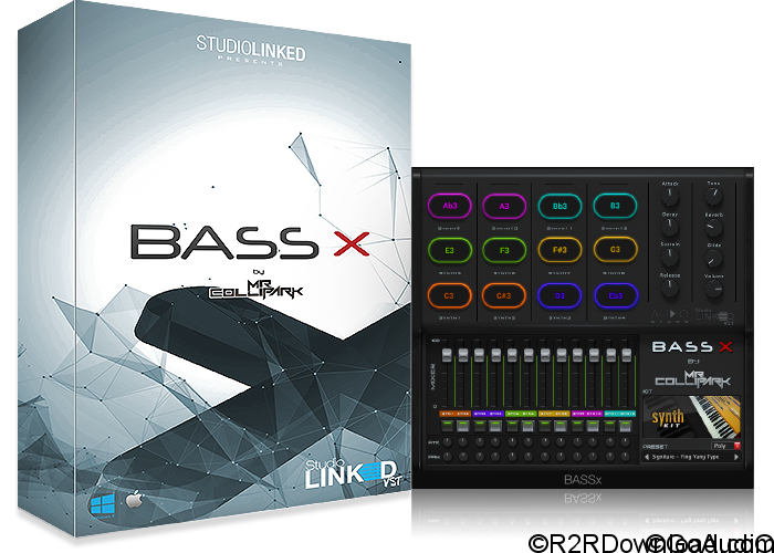 StudioLinkedVST BASSx by Mr.Collipark VST VSTi AU (PC & Mac)