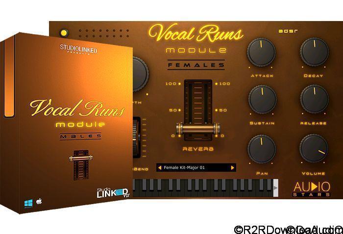 StudioLinkedVST Vocal Runs Module VST/AU (WIN-OSX)