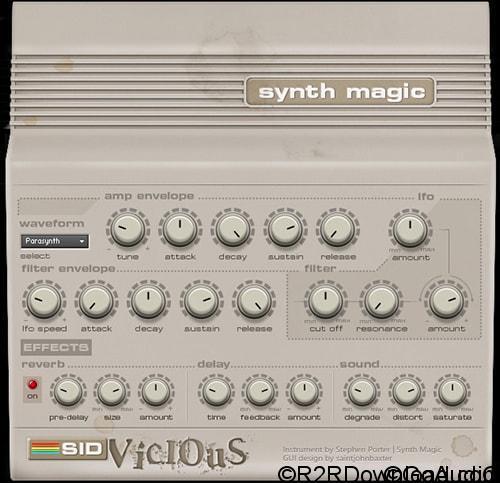 Synth Magic SID Vicious KONTAKT