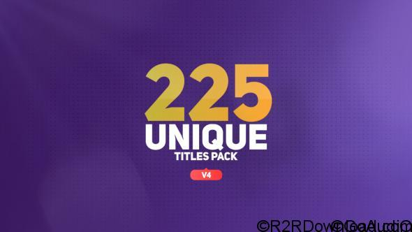 VIDEOHIVE THE TITLES 16452285 FREE DOWNLOAD