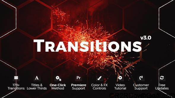 VIDEOHIVE TRANSITIONS 20139771 FREE DOWNLOAD