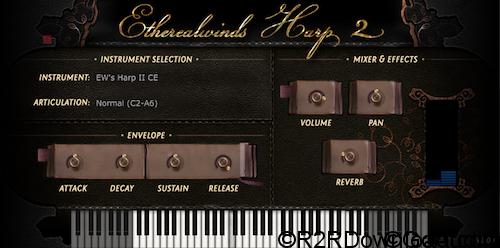 Versilian Studios Etherealwinds Harp II KONTAKT
