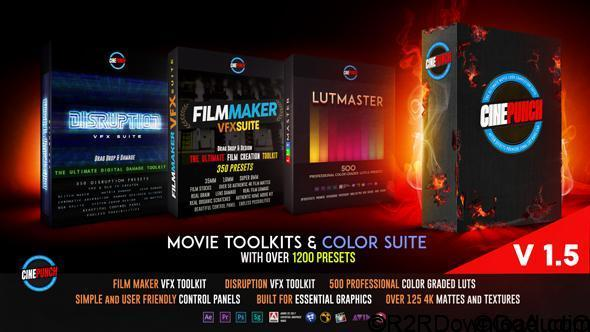 VideoHive CINEPUNCH Master Suite Free Download