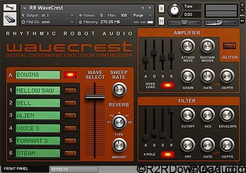 Rhythmic Robot WaveCrest KONTAKT
