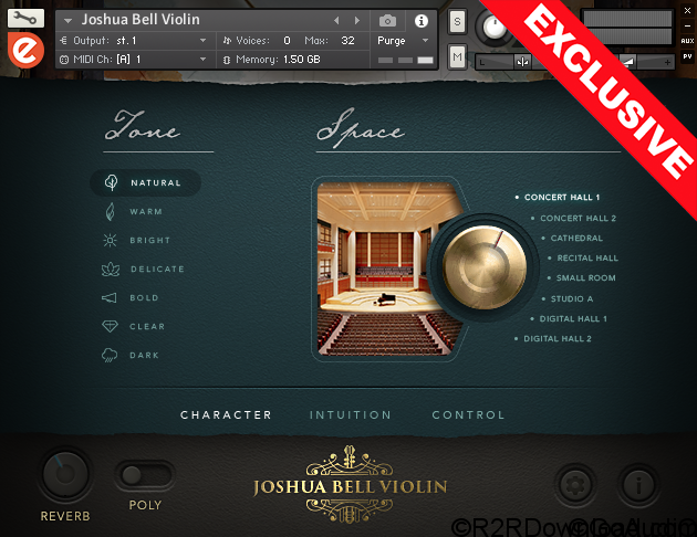 Embertone Joshua Bell Violin KONTAKT
