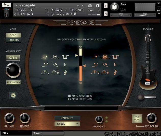 Indiginus Samples Renegade Electric Guitar KONTAKT