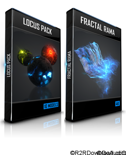 Locus Pack + Fractal Rama for Element 3D + Element 3D v2.2.2.2155 for After Effects (macOS)