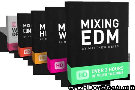 Matthew Weiss Mixing EDM Bundle TUTORiAL