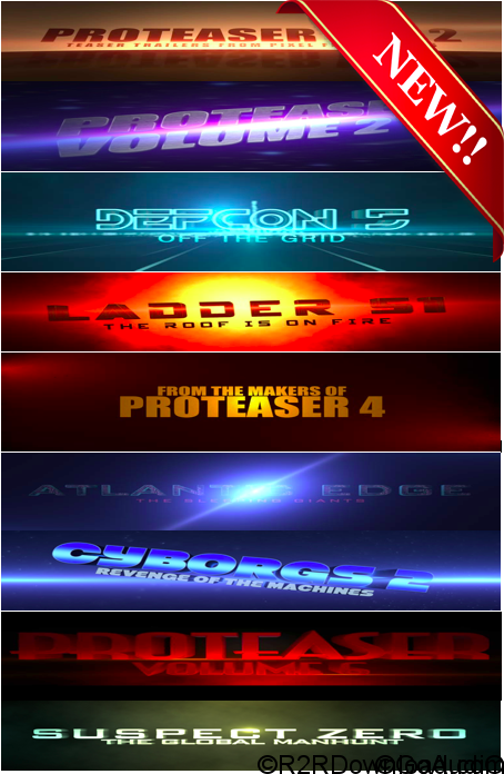 Pixel Film Studios – PROTEASER Vol. 1-10 Plugins for Final Cut Pro X (macOS)