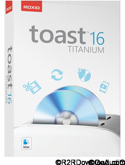Roxio Toast Titanium v16.1.4867 Free Download (Mac OS X)