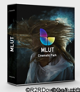 MotionVFX – mLUT Cinematic Pack – 30 Professional Cinematic 3D Luts (WIN-OSX)