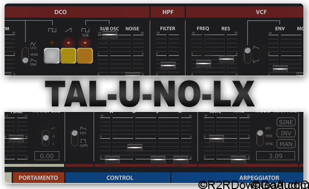 Togu Audio Line TAL-U-NO-LX 2.8.6 Free Download (WIN-OSX)