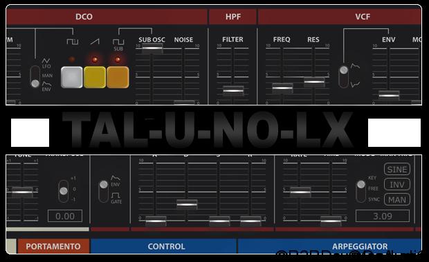 Togu Audio Line TAL-U-NO-LX 2.8.6 Free Download (WIN-OSX)